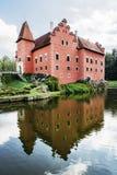 Cervena Lhota是在捷克共和国的一个美丽的大别墅 免版税库存照片