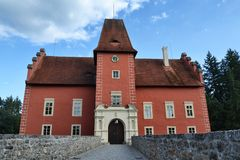 Cervena Lhota Castle Royalty Free Stock Images