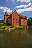 Cervena Lhota castle Stock Images