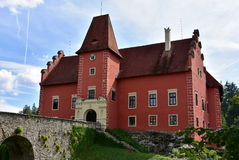 Cervena Lhota castle Stock Photo