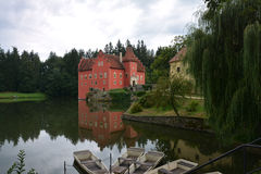 Cervena lhota castle Royalty Free Stock Image