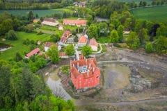 Cervena Lhota in der Tschechischen Republik stockbild