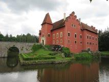 Cervena Lhota slott arkivbilder