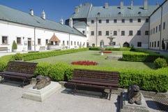 Cerveny卡梅尼火山城堡,斯洛伐克 库存图片