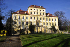 cerveny φέουδο σπιτιών hradek Στοκ φωτογραφίες με δικαίωμα ελεύθερης χρήσης