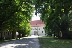 The Cerveny Kamen Castle, Slovakia Royalty Free Stock Photography