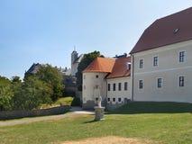 Cerveny Kamen Castle in summer Stock Image