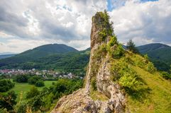 Free Cerveny Kamen Cliff Stock Photos - 125314383