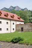 Cerveny Klastor monastery in Slovakia Stock Photo