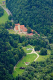 Cerveny Klastor monastery, Slovakia Stock Photos