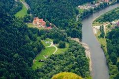 Cerveny Klastor monastery, Slovakia Stock Image