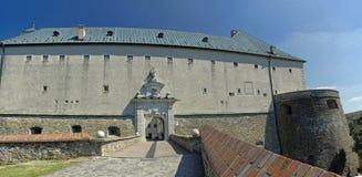 Cervenyen Kamen Castle, Slovakien Royaltyfri Foto