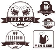 Cerveza stock de ilustración