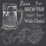 Cerveza amarga Fotografía de archivo libre de regalías