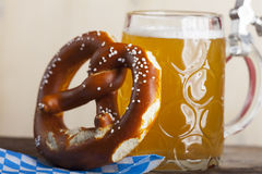 Cerveza bávara Imagen de archivo libre de regalías