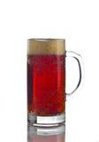 Cerveza con espuma Imagen de archivo