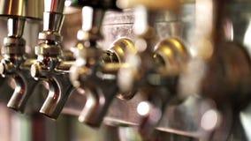 Cerveza de barril almacen de video