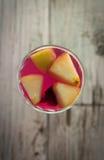 Cerveza de centeno de la fruta Fotos de archivo libres de regalías