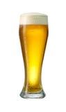 Cerveza de cerveza dorada de cristal del og Foto de archivo