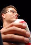 Cerveza de consumición Fotografía de archivo libre de regalías