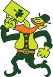 Cerveza de consumición del hombre irlandés del día de Patricks del santo libre illustration