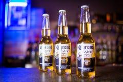 Cerveza de Corona Extra imagenes de archivo