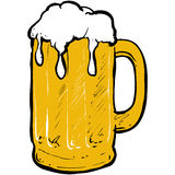 Cerveza de Glas Fotos de archivo
