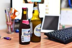 Cerveza de Hoegaarden Imagenes de archivo