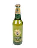 Cerveza de la botella de Lasko Fotografía de archivo
