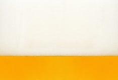 Cerveza de la espuma Foto de archivo