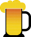 Cerveza de la taza Foto de archivo
