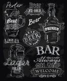 Cerveza de la tiza Imagen de archivo
