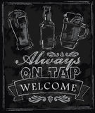 Cerveza de la tiza