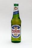 Cerveza de Peroni Fotografía de archivo