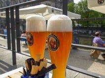 Cerveza de Weiss Fotografía de archivo libre de regalías