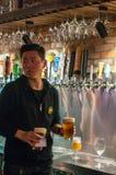 Cerveza del arte en Shangai Imagen de archivo