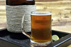 Cerveza del Microbrew Fotografía de archivo libre de regalías