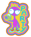 Cerveza del partido Imagenes de archivo