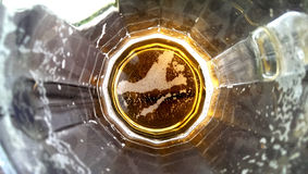Cerveza en un vidrio Imagen de archivo libre de regalías