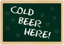 Cerveza fría Foto de archivo libre de regalías