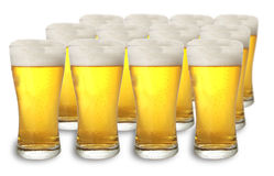 Cerveza fría Fotografía de archivo