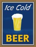 Cerveza helada Imagenes de archivo