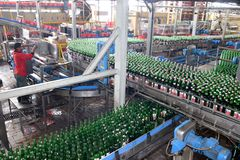 Cerveza Indonesia Fotografía de archivo libre de regalías