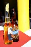 Cerveza mexicana Imágenes de archivo libres de regalías