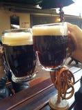 Cerveza oscura Foto de archivo libre de regalías