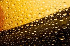 Cerveza oscura y ligera Foto de archivo libre de regalías