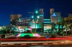 Cerveza-Sheva, la entrada central al hospital, Fotografía de archivo