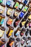 Cervezas belgas imagen de archivo