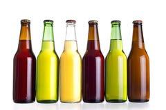 Cervezas mexicanas sin etiqueta o Cervesa Fotografía de archivo libre de regalías