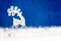 Cervi decorativi nordici Fotografie Stock Libere da Diritti